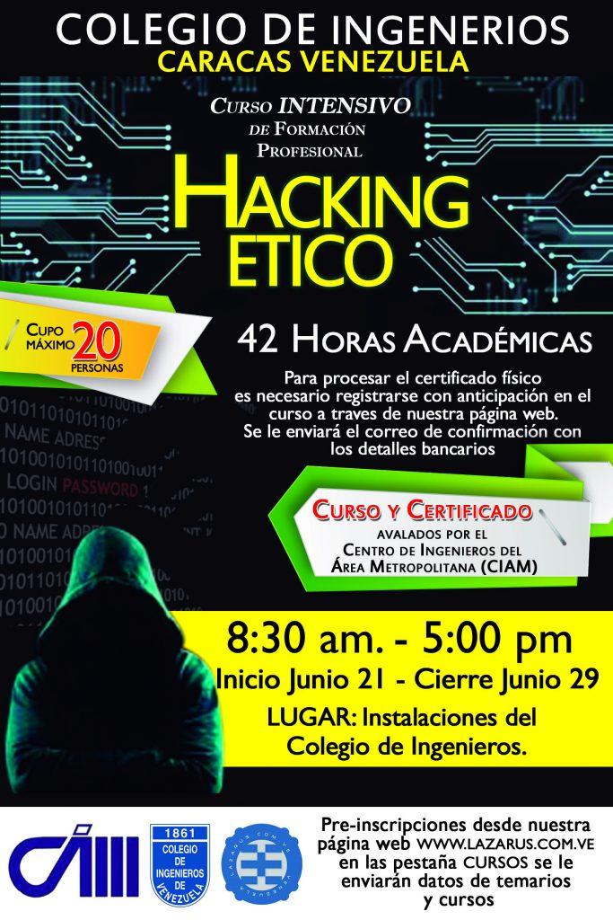 HACKING ÉTICO V8 COLEGIO DE INGENIEROS CARACAS