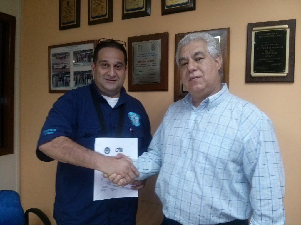 CIIL Extiende y Renueva Convenios con el Centro de Ingenieros del Area Metropolitana