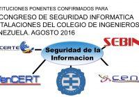 Instituciones Ponentes en el Congreso Seguridad de la Informacion