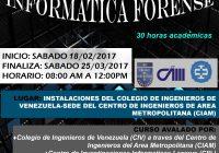 1.er  CURSO INFORMATICA FORENSE (CARACAS 2017)