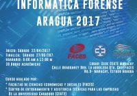 TERCER CURSO INFORMATICA FORENSE ARAGUA 2017