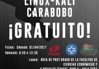 CURSO BASICO DE LINUX KALI CARABOBO 2017 GRATUITO