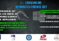 1er Curso de Informática Forense On Line 2017