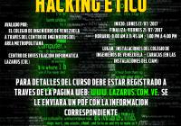 Abiertas las Inscripciones Curso Hacking Ético (CARACAS)