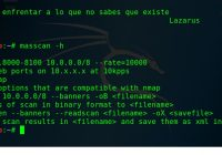 MASSCAN . El Escaner de Puertos de Internet mas Rapido
