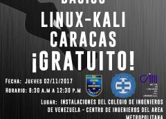 Curso Gratuito Kali Linux (Caracas 2017)