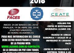 Curso Informática Forense  Carabobo 2018 (Herramientas y prácticas que no deben faltar)