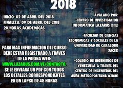 Primero Curso Open Source Intelligense (OSINT) On Line 2018