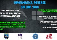 Curso Forense Online Junio 2018