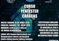 Curso Pentester Caracas Junio 2018 (Presencial)