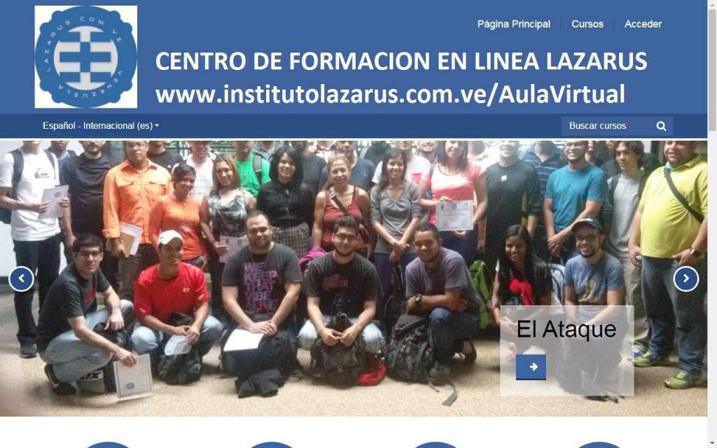 Creado el Instituto de Formación en Línea Lazarus. (https://institutolazarus.com.ve/)