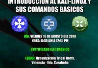 Taller GRATUITO presencial Básico de Linux Debian (KALI)