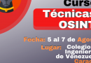 Curso Técnicas OSINT (Caracas 2019)