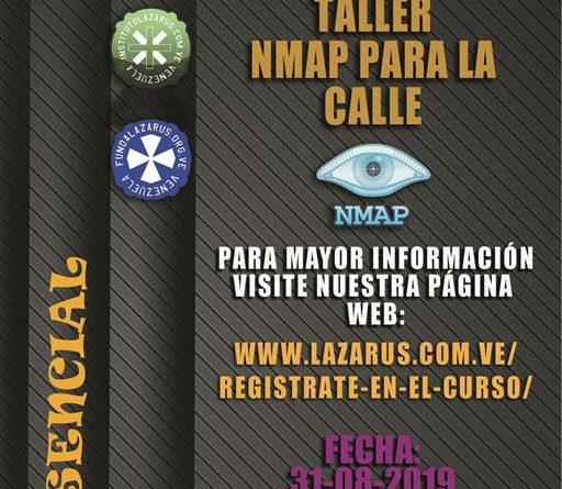Taller Nmap para la Calle (Presencial-Carabobo)