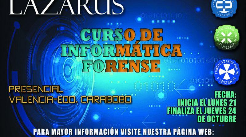 CURSO DE INFORMÁTICA FORENSE (PRESENCIAL-CARABOBO)