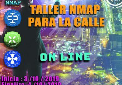 TALLER NMAP PARA LA CALLE (ON LINE)