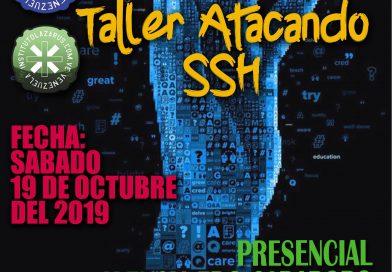 Taller Atacando con SSH (Presencial Valencia)