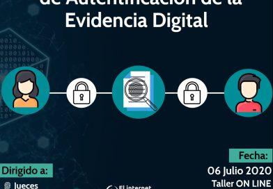 FUNCION HASH COMO MEDIO DE AUTENTIFICACION DE LA EVIDENCIA DIGITAL.