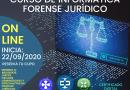 Curso de Informática Forense para Especialistas en Ciencias Jurídicas.