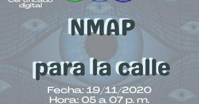 NMAP PARA LA CALLE