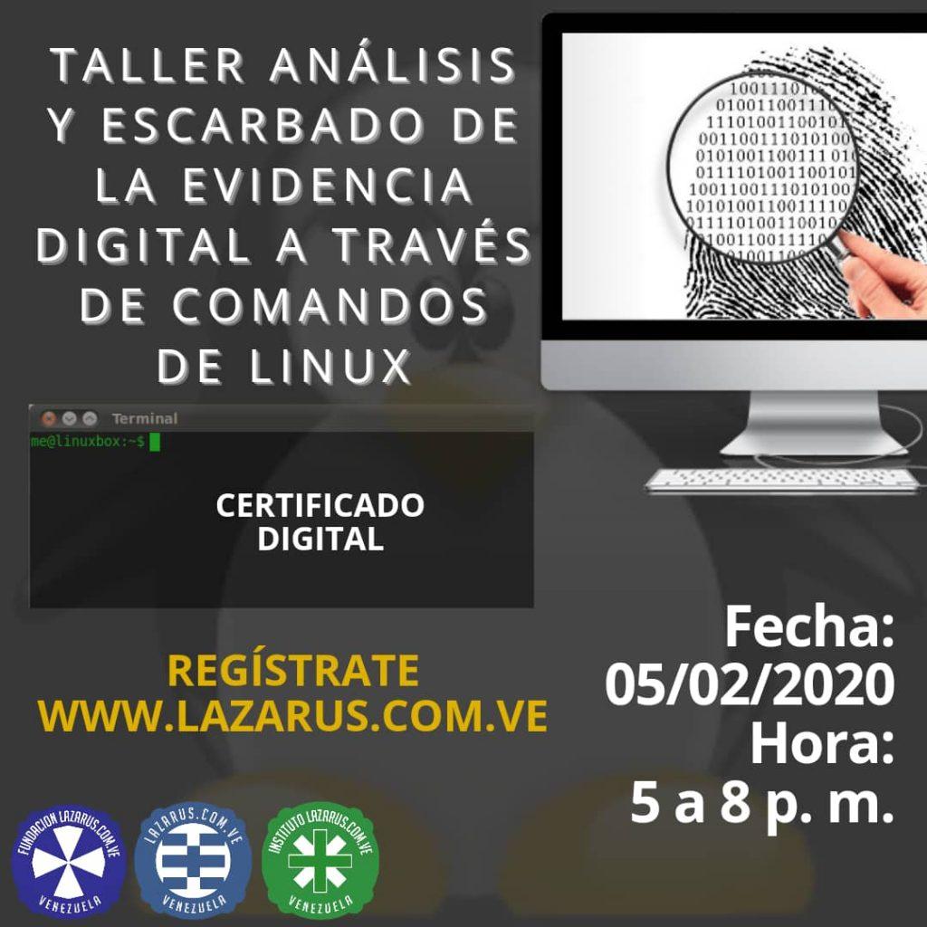 ANALISIS Y ESCARBADO DE EVIDENCIA DIGITAL