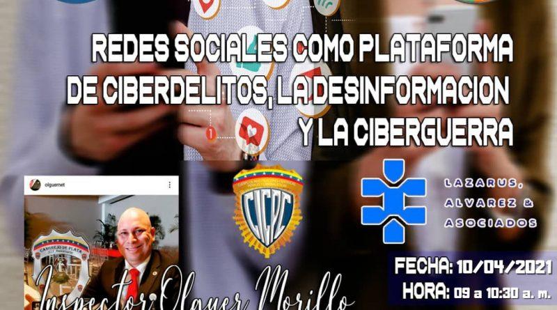 Redes sociales como plataforma de Ciberdelitos, la desinformación y la Ciberguerra.