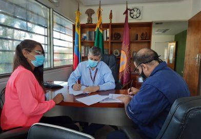 Firma de Convenio entre  (FACES), el Centro de Entrenamiento y Asistencia Técnica a las Empresas de la Universidad de Carabobo (FUNDACEATE) y la Organización Lazarus.